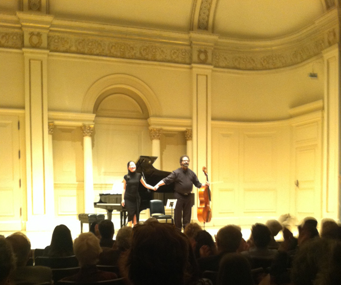 Dennis Parker at Carnegie Hall