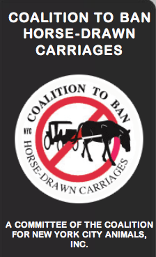 Horse Drawn Carriage Ban Logo