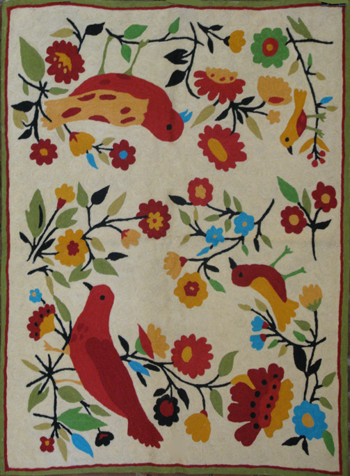 """House Finches"" tapestry from the Kim Parker Home collection"