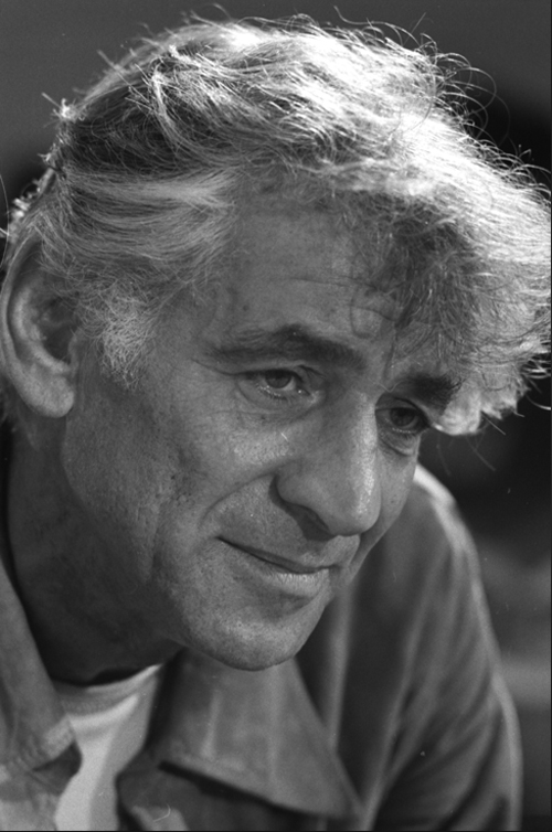 Leonard Bernstein -- American conductor, pianist,  composer and educator