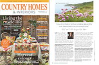 "Kim Parker Feature Essay ""My Favorite View"" published in the Spetember 2016 issue of Country Homes & Interiors magazine"